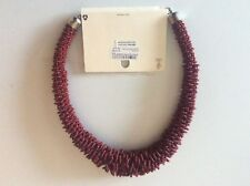 Dorothy Perkins Horse Blood Colour Costume Necklace