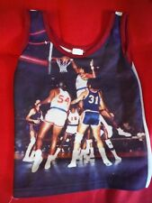 Vintage 1970's basketball photo print tank by sears