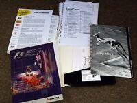 Media Kit F1 2000 Australian Grand Prix Official Program Barry Lake