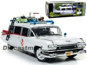 AUTOWORLD AWSS118 1:18 1959 CADILLAC ELDORADO ECTO-1 GHOSTBUSTER MOVIE NEW MODEL