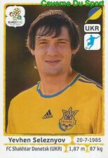 420 Yevhen Seleznyov - Ukrajina UKRAINE STICKER EURO 2012 PANINI