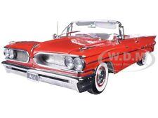 1959 PONTIAC BONNEVILLE OPEN CONVERTIBLE RED 1/18 PLATINUM EDITION SUNSTAR 5183