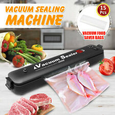 Commercial Vacuum Sealer Machine Seal a Meal Food Saver System with 15 free bags