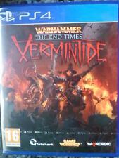Warhammer The End Times Vermintide Nuevo PS4 Rol táctico estrategia PAL España-