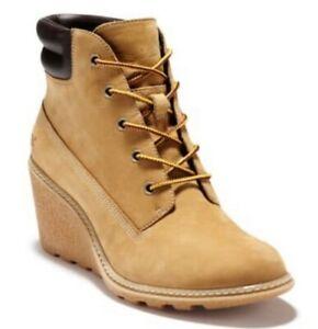 Timberland Women's Amston Wedge Booties Size 9
