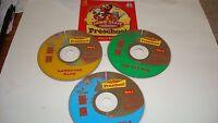 Jump Start Advanced Preschool CD-ROM 3 Disc Set Ages 2-4 Windows/MacIntosh