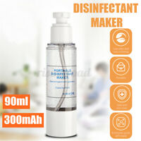 90ml Portable Electric Hypochlorous Acid Water Making Machine Disinfection Maker