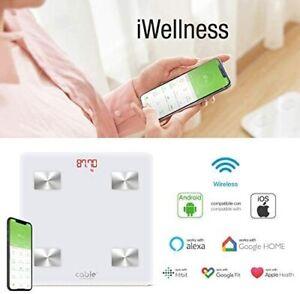 iWellness bilancia impedenziometrica Pesa Persone Digitale, per Android e iOS