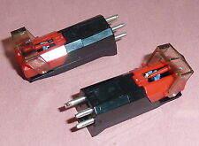 Two Cartridges with stylus, New Bargain, Turntable, Record Player. Derens 40750