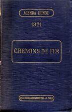 CHEMINS DE FER AGENDA DUNOD 1921 DE VIOLET ED. DUNOD