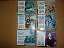 United States Scott  2624-2629 Columbian Exposition Set  of Six Souvenir Sheets