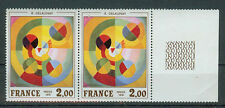 Frankreich Briefmarken 1976 Kunst Mi.Nr.1982** postfrisch Paar Rand