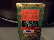 JACK HIGGINS TOLL FOR THE BRAVE Cassette