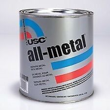 USC 14060 All-Metal Aluminum Filled Auto Body Filler (1 Quart)