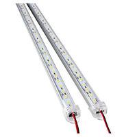 2 Stueck Aluminiumlegierung Starre LED Streifen Stab Licht Wasserdichtes 12V RD