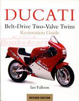 DUCATI BOOK RESTORATION GUIDE FALLOON TWINS