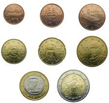 AGG.OTTOBRE 2021**GRECIA  GREECE 1 CENT-2 EURO 2002 - 2019 CIRCOLATE
