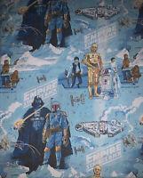 Vintage 1979 EMPIRE Strikes Back Top BED SHEET Flat TWIN Star Wars Original 70s