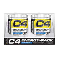 C4 Cellulor Pre Work Out Blue Razz 1 Or 2x 195g Energise Weight Loss Pre Workout