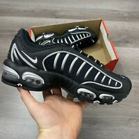 NIKE AIR MAX TAILWIND IV BLACK SILVER TRAINERS SHOES SIZE UK10 US11 EUR45