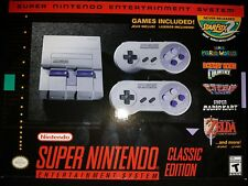 Super Nintendo SNES Classic Edition Mini System Console |BRAND NEW SEALED