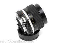 Nikkor 85mm F/2.0 Serie AIS Matricola 354200 Nikon con SCATOLA e TAPPI