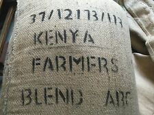15# KENYAN GREEN COFFEE BEANS.  RAW UNROASTED COFFEE. SIZE ABC.  DIRECT TRADE.