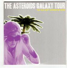 (GO604) The Asteroids Galaxy Tour, The Sun Ain't Shining No More - 2009 DJ CD