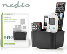 Nedis Black TV DVD Blu-ray Remote Control Holder Rotating Caddy for 5 Remotes