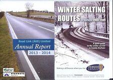 A69 Trunk Road Carlisle Newcastle 2013 Highways Agency Roadlink Durham snow salt