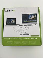 Aimos KVM Switch HDMI USB 2 Ports PC Computer Switch Keyboard Mouse Switch #E