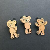 WDW - Hidden Mickey 2007 Series 2 - Disney Bear - 3 Pins Disney Pin 56956