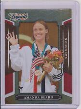 RARE 2008 DONRUSS LEGENDS AMANDA BEARD OLYMPIC CARD #56 ~ RED PARALLEL /250