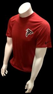Nike Dri Fit Men's Atlanta Falcons Football Red Short Sleeve Shirt NFL T-Shirt