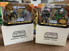DC Universe Justice League Unlimited Darkseid Kalibak Parademon Matty Collector