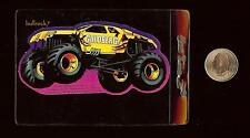 GOLDBERG Monster Jam Vending Machine Sticker / 2000 SFX Motor SportS Hot Wheels