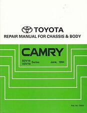 TOYOTA CAMRY REPAIR MANUAL for CHASSIS & BODY 1994 SDV10 VDV10 SERIES