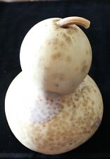 """DRIED 9"""" BIRD HOUSE GOURD WITH STEM DECORATIVE OR CRAFTS #4"""