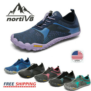 NORTIV8 Women's Water Shoes Barefoot Quick Dry for Swim Surf Aqua Beach Vacation