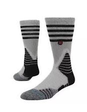 Stance Fusion Crew Basketball Fusion 559 Speedway V3  Grey and Black Medium