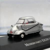 IXO Altaya Messerschmitt KR200 1957 Silver Diecast Models Limited Edition 1:43