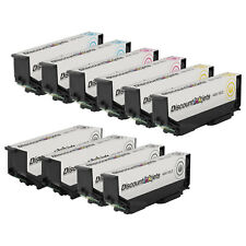Reman Ink Cartridge set of 10 for Epson Expression Xp-600 T273XL120 273XL