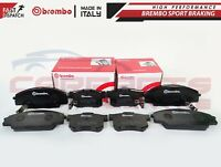 FOR HONDA CIVIC 2.0 TYPE R EP3 FRONT and REAR BREMBO BRAKE PADS PAD SET 01-05