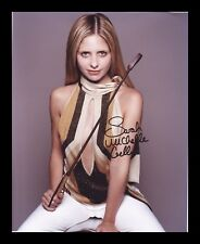 SARAH MICHELLE GELLAR AUTOGRAPHED SIGNED & FRAMED PP POSTER PHOTO 7