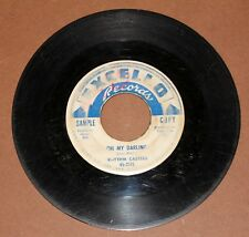 RHYTHM CASTERS-SAMPLE COPY PROMO DOO WOP 45 RPM-EXCELLO LABEL #2115
