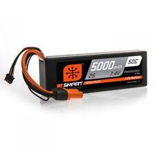 Spektrum 5000mAh 2S 7.4V 50C Smart LiPo Hardcase; IC5 SPMX50002S50H5