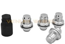 4pc Toyota Tacoma 4Runner Factory Style Wheel Lug Nut Locks M12x1.5 + 1 Key