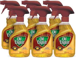 Old English Lemon Oil Furniture Polish, 12 fl oz Bottle Pack of 6