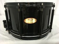 "Pearl Masterworks 'Redline' Free Floating 14"" X 8"" Snare Drum/20 Ply Shell/New"