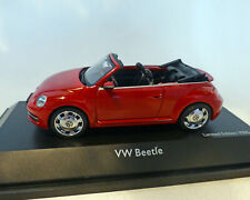 VW-Beetle Cabrio rot, 1:43, Schuco
